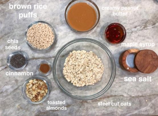 peanut butter energy bars 1